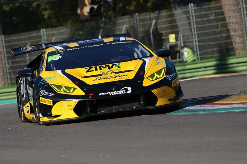 Wlazik and Scholze win chaotic Imola Am and Lamborghini Cup race