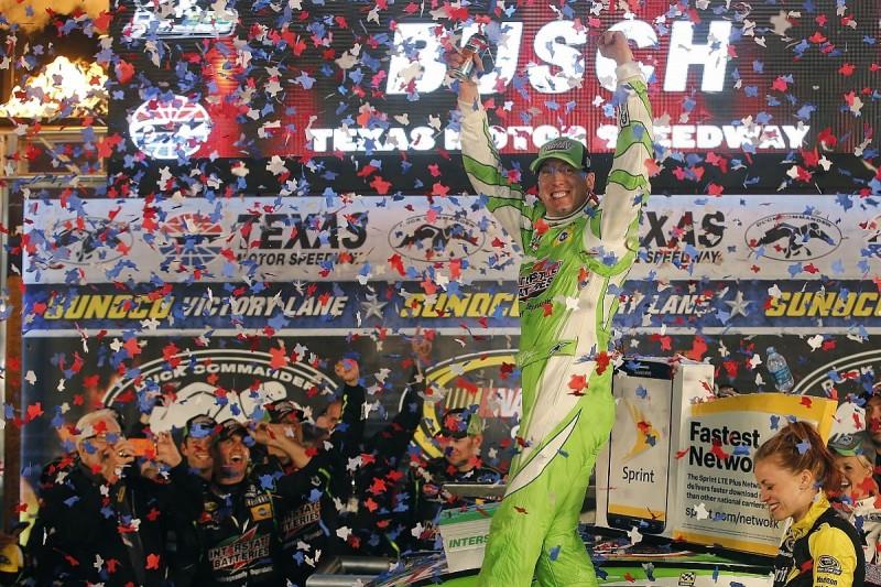 Kyle Busch claims second straight NASCAR Sprint Cup win at Texas