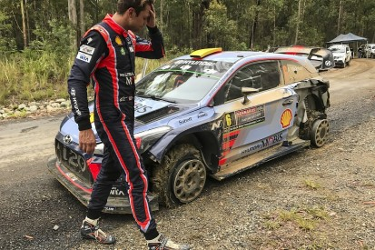 WRC Rally Australia: Neuville into lead as Mikkelsen forced out