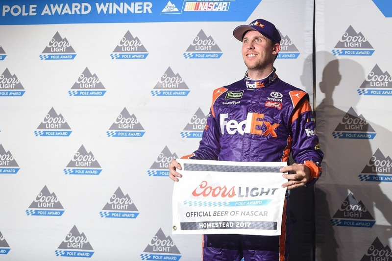 Denny Hamlin upstages NASCAR title contenders with Homestead pole