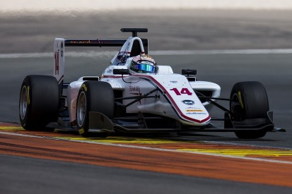 Matthew Parry leads Friday's GP3 Series test at Valencia