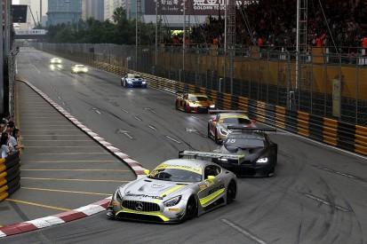 Mortara wins restarted Macau GT qualifying race after pile-up