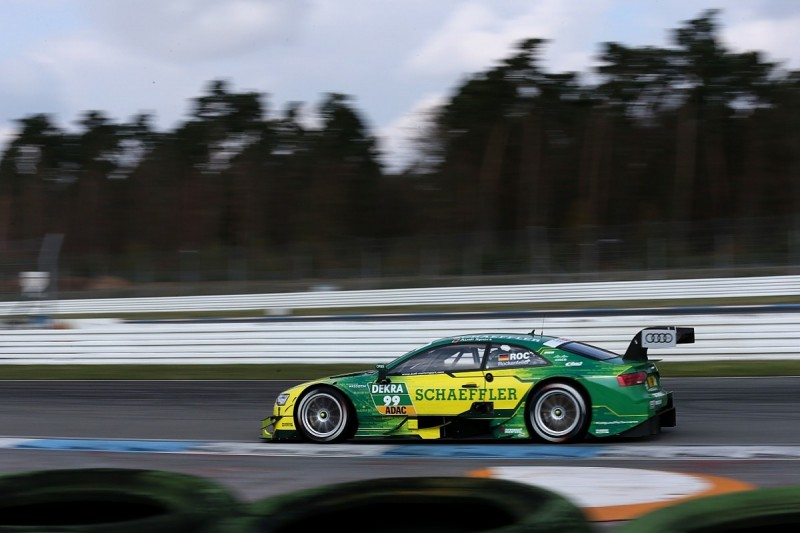 Rockenfeller leads Audi 1-2-3 on final day of DTM Hockenheim test