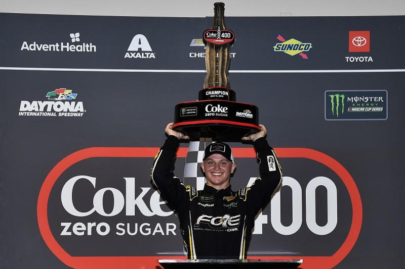 Haley doubts he would have shock NASCAR Daytona win without red flag