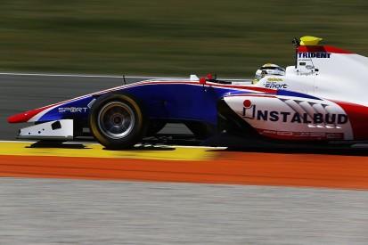 Trident's Artur Janosz fastest as GP3 testing resumes at Valencia