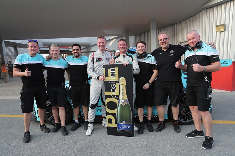 BTCC star Gordon Shedden takes pole on TCR debut in Dubai