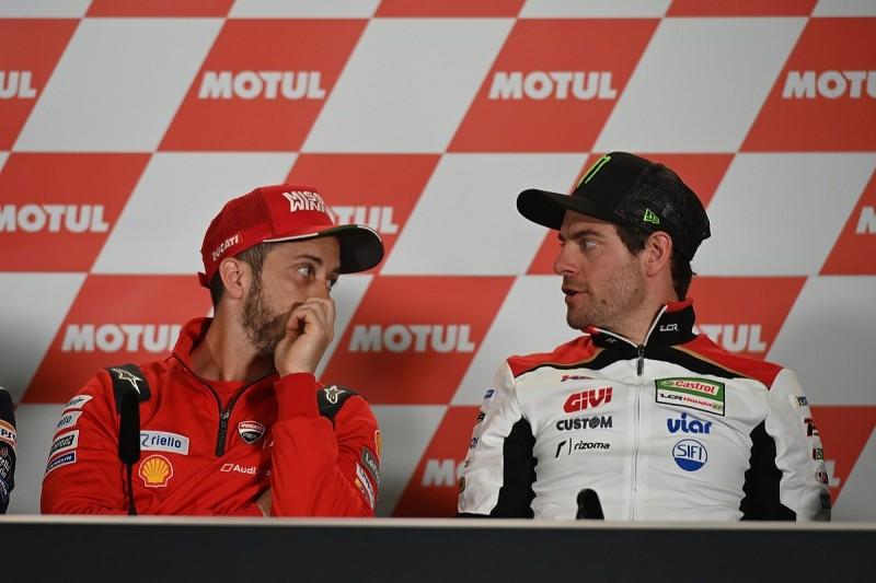 "Andrea Dovizioso ""lost his way"" in recent MotoGP races - Crutchlow"