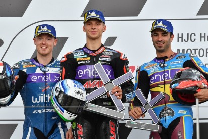 Niki Tuuli wins first-ever MotoE race at Sachsenring after red flag