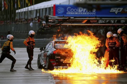 Brad Jones Racing to investigate Supercars Townsville pitlane fire