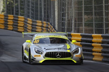Macau FIA GT World Cup: Mortara leads all-Mercedes top four