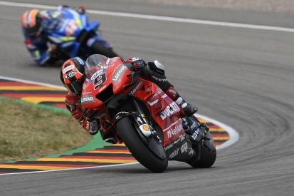 "MotoGP Sachsenring: Petrucci angered by ""strange"" Mir incident"