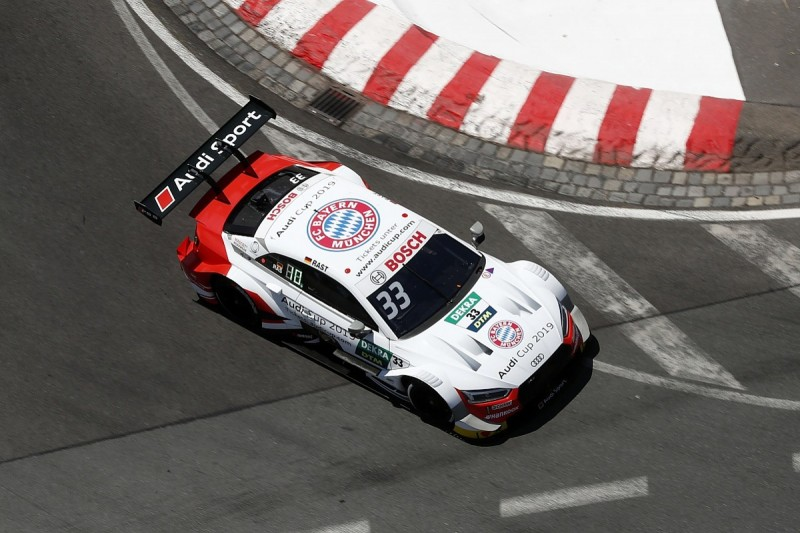 Rene Rast thought Norisring DTM race was over after stall at start