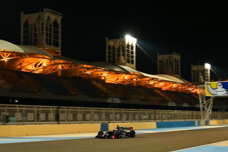 Formula V83.5 Bahrain: Binder leads evening session to top practice