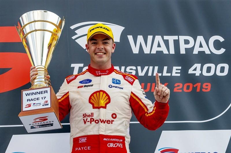 Townsville Supercars: DJR Penske's McLaughlin gets 13th win of 2019