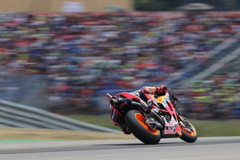 MotoGP Sachsenring: Rossi, Dovizioso into Q1, Marquez fastest