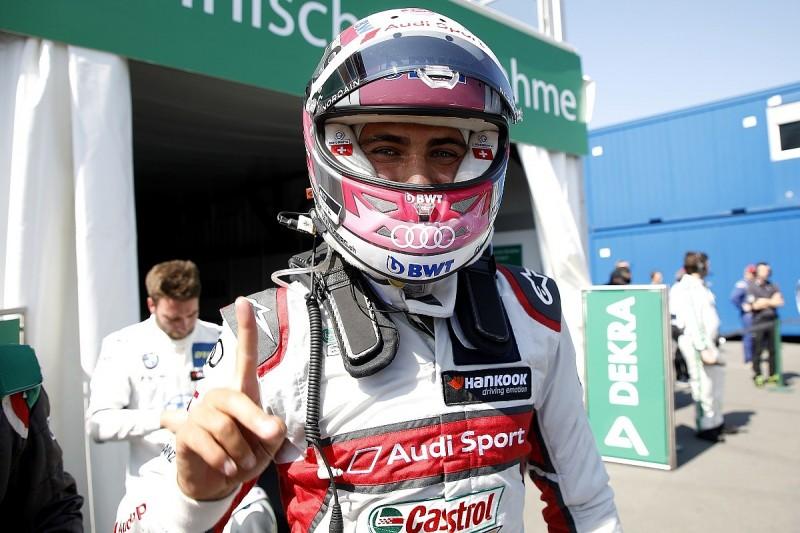 Nico Muller's record Norisring DTM lap secures Audi pole for opener