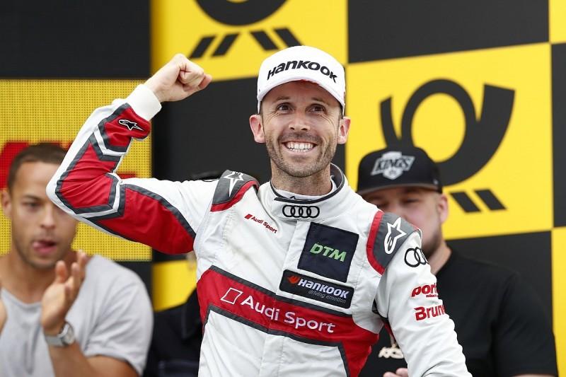 DTM Norisring: Audi's Rene Rast recovers from stall to win opener