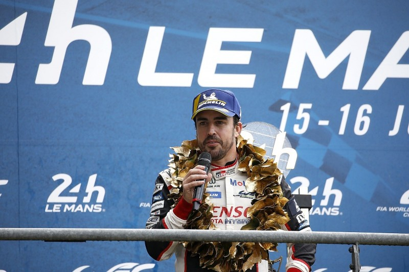 "Fernando Alonso caused a ""few sparks"" at Toyota WEC team - Leupen"