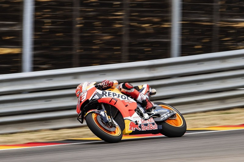 Sachsenring MotoGP: Marc Marquez moves clear for Honda in practice