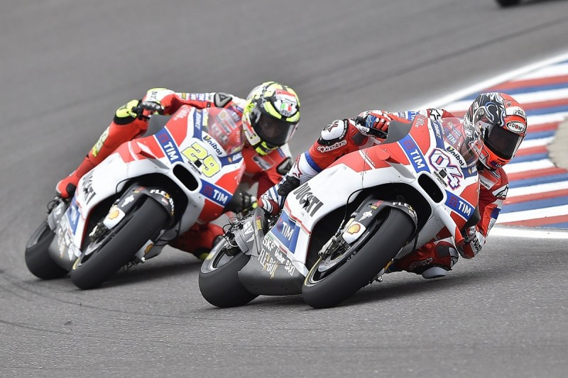 Ducati to talk to its MotoGP riders after costly clash in Argentina
