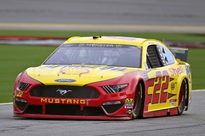 Logano on pole for NASCAR Daytona after lightning stops qualifying
