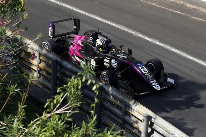 Macau GP: Eriksson beats team-mate Ticktum to fastest time in FP2