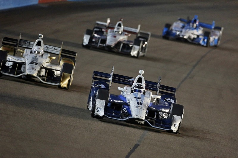 IndyCar oval racing favours 'stupidity' at times, Chilton believes