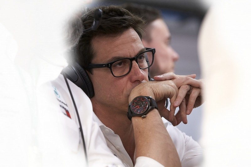 """Mercedes' Toto Wolff: Formula 1 boss rumours could be an """"agenda"""""""