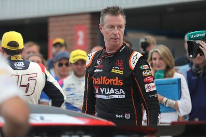 "Matt Neal ""dodged a bullet"" after Oulton BTCC clash with Jake Hill"