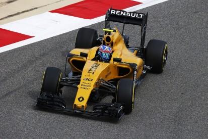 Palmer upbeat about Renault F1 progress, despite missing Bahrain GP