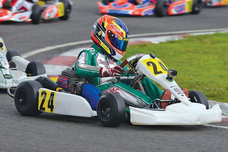 Promoted: Inside karting with Cian Shields