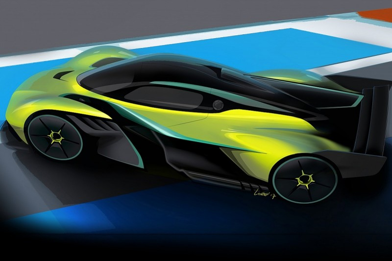 Aston reveals track version of Red Bull/Newey-assisted Valkyrie