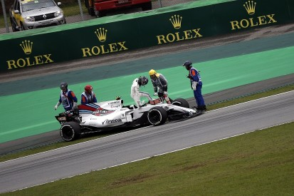 Stroll Brazil woe was triggered by older-spec Mercedes F1 engine