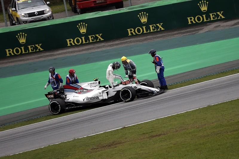Stroll Brazil woe was triggered by older-spec Mercedes F1 engine