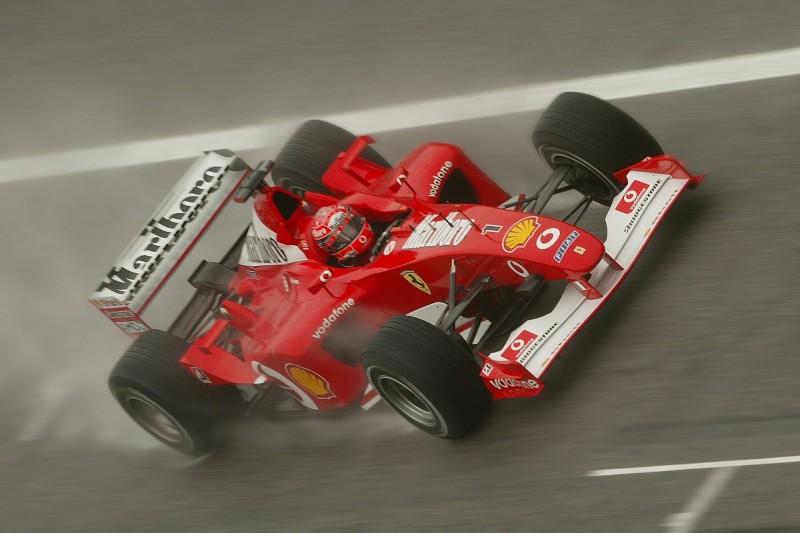 Michael Schumacher tops F1 Racing's greatest Ferrari driver poll