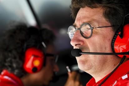 "Ferrari F1 boss Binotto ""really ashamed"" at tyre change decision"