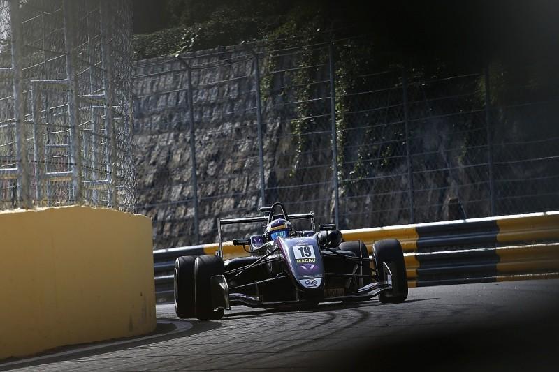 Macau Grand Prix: Sette Camara leads Motopark 1-2-3 in first practice