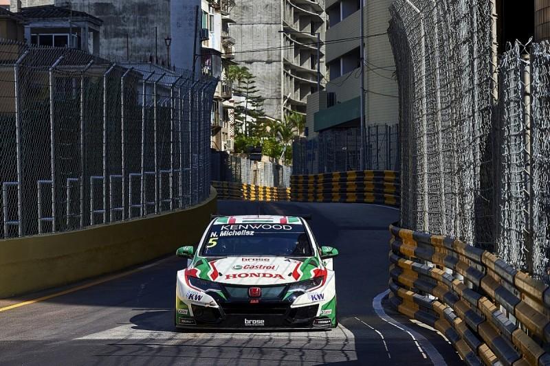 Macau WTCC: Honda's title hopeful Michelisz beats Huff in FP1