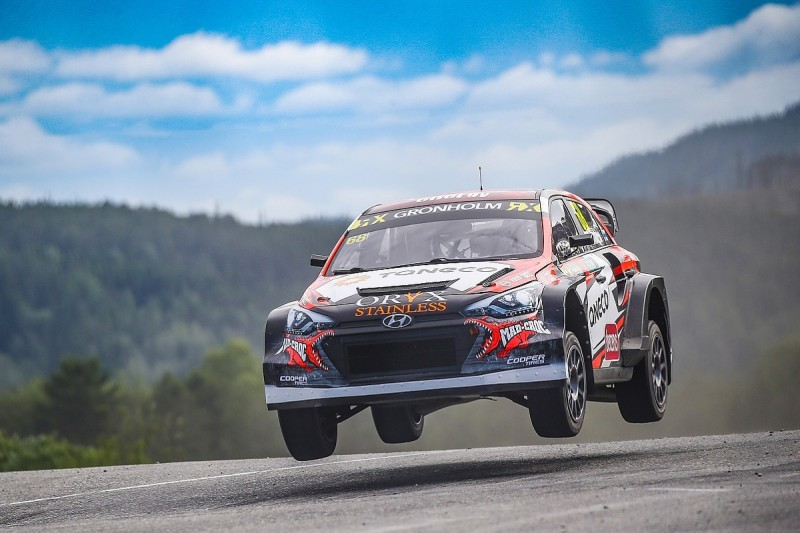 Gronholm's GRX team to make World Rallycross future call next month