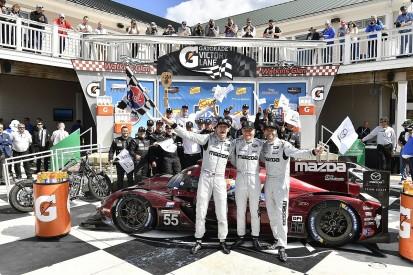 "Mazda ""never gave up"" on its IMSA SportsCar win goal"