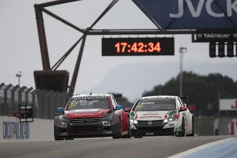 Jose Maria Lopez resists Tiago Monteiro to win second WTCC race
