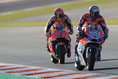 Marquez underestimated Dovizioso as MotoGP title threat in 2017