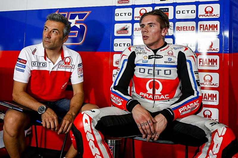 Scott Redding feels lucky to escape injury in MotoGP tyre incident