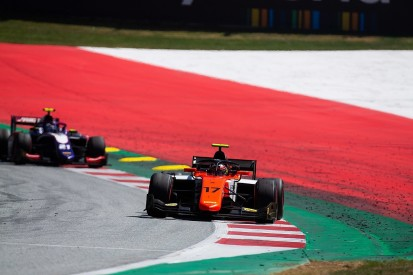 """Red Bull junior O'Ward got """"arse whipping"""" on Red Bull Ring F2 debut"""