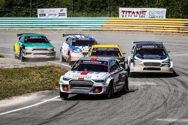 Heikkinen and Hansen share first TitansRX Europe rallycross wins