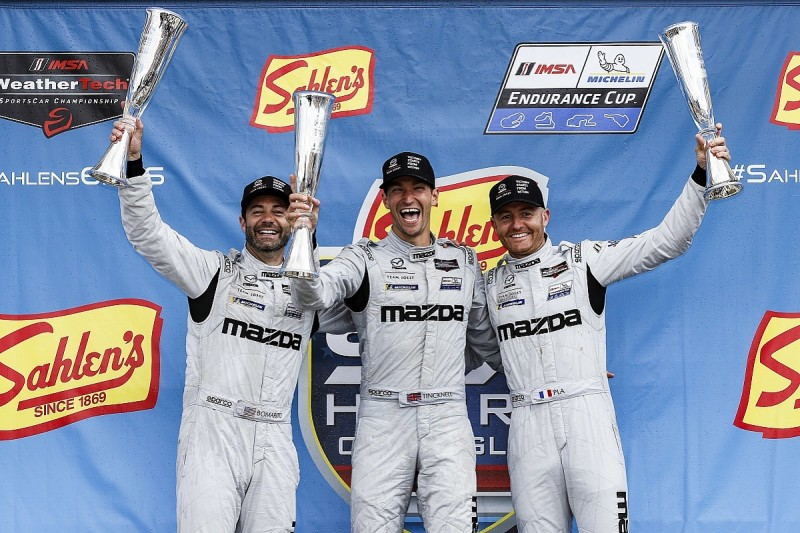 Mazda ends long wait for IMSA victory with one-two at Watkins Glen