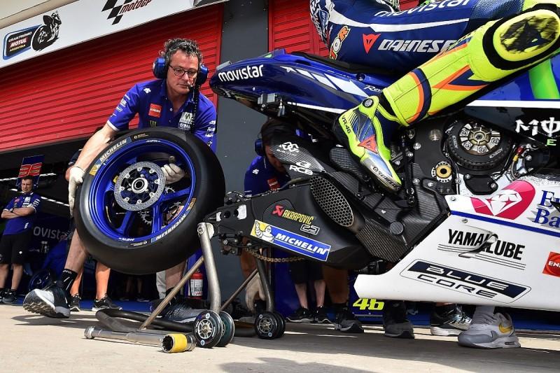 MotoGP riders entering 'unknown' following Michelin change