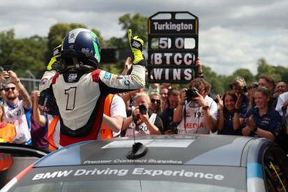 BTCC Oulton Park: Turkington clinches race two win as WSR takes 1-2