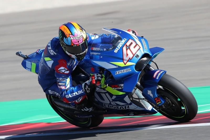 """Rins lost chance of Assen MotoGP win for Suzuki to """"strange"""" crash"""
