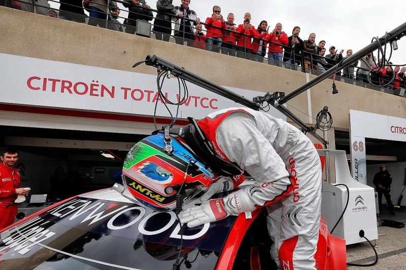 Lopez tops Ricard WTCC qualifying, Huff on reverse-grid pole